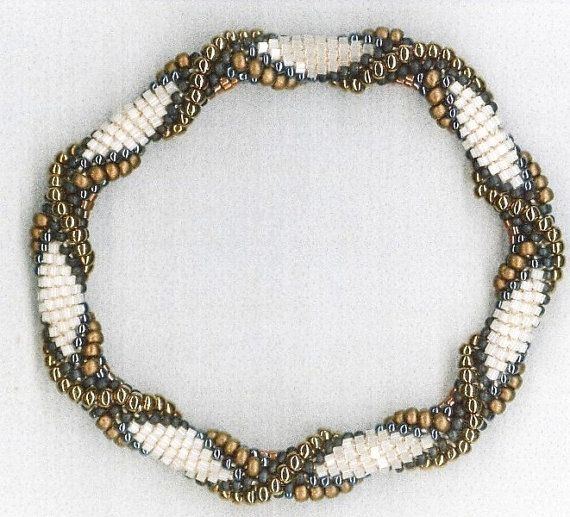 Bead Crochet Patterns Your Choice of Five by WearableArtEmporium