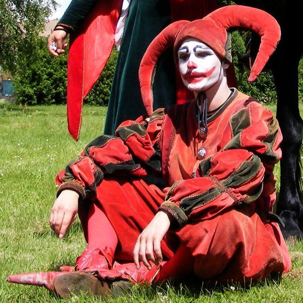 Jester Garb | Medieval Jester costume | Outfit4Events