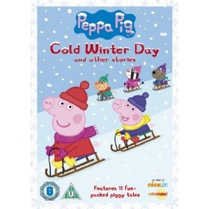 The perfect Christmas gift for the kiddies - Peppa Pig: Cold Winter Day on DVD!