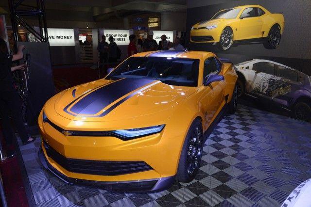 Transformers 4 Stunning Camaro Concept