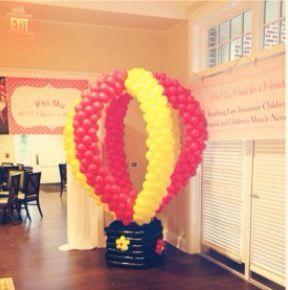 CMNH Balloon #PhiMu #Recruitment #CMNH