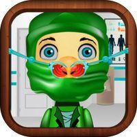Nose Doctor Game for Kids: Lego Ninjago Version by German Techera