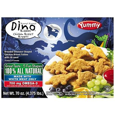 dino nuggets cooking instructions