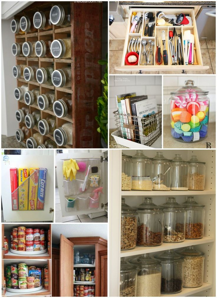 Kitchen Organization Tips | Great tricks and ideas to get your kitchen organized | theidearoom.net