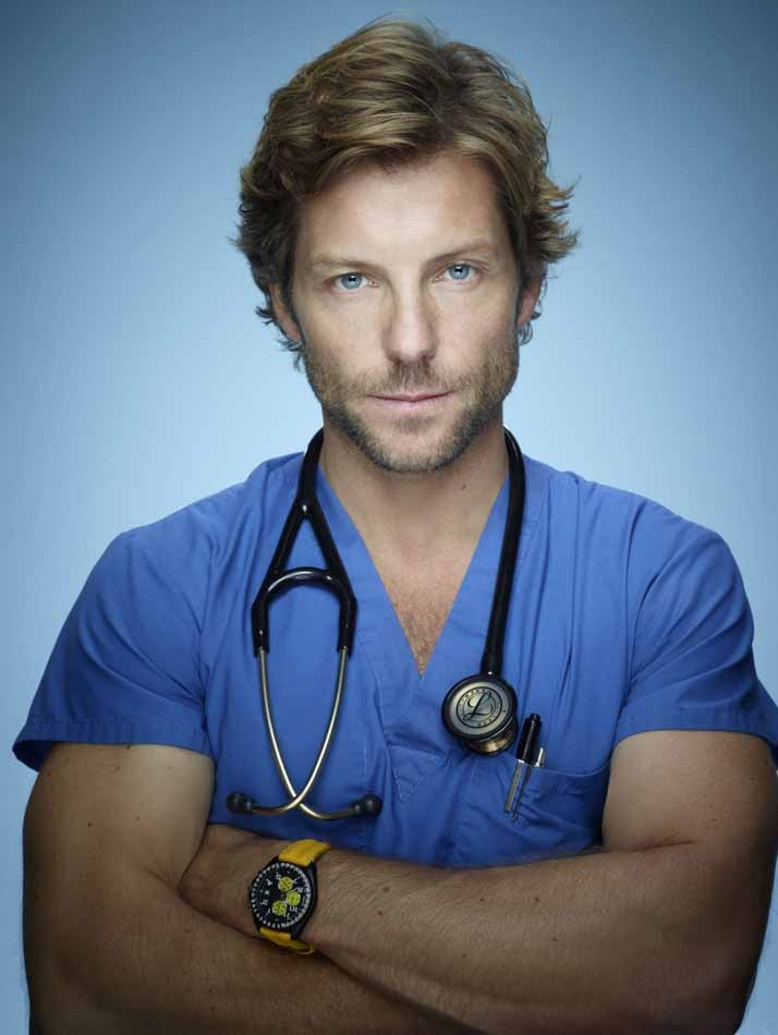 "Jamie Bamber. Best known for his role on Battlestar Galactica. This season he stars as a brain surgeon on ""Monday Mornings"" on TNT with a fabulous ensemble cast. This show is going to be a hit!"