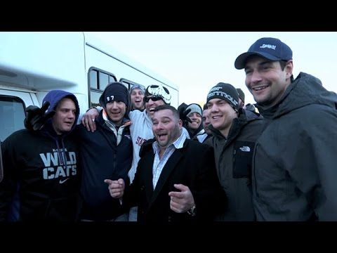 Rob Gronkowski's dad and brothers take tailgating at Gillette Stadium to a whole new level with the Gronks' decked-out party bus. Watch the full feature here...