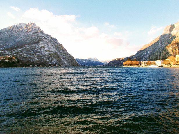 #Włochy #Lecco #Jezioro #Como #italia #italy #lombardia #alpy #północne #widok #krajobraz #romantycznie #niebo