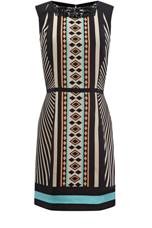 TRIBAL EMBELLISHED SHIFT from Oasis $115 - would be great for work or evenings: Oasis Deco, Fashion Style, Deco Tribal, Oasis Tribal, Shift Dresses, Embellishments Shift, Fantasy Shopper, Tribal Prints, Tribal Embellishments