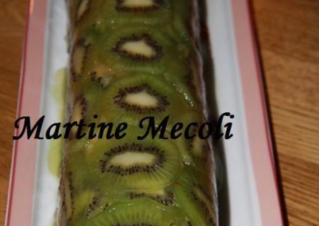 Recette de Terrine de pommes en robe de kiwis sans cook'in | Guy Demarle
