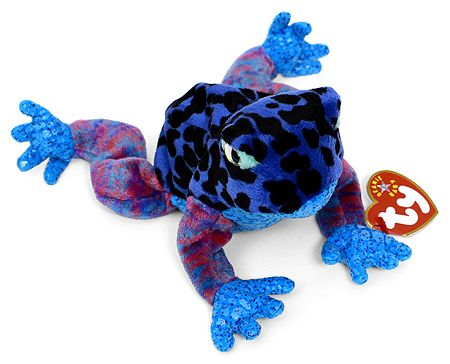 7f9ed8cc92b Dart - frog - Ty Beanie Babies~ so many fun colors with this one. glad he  is part of my collection  )