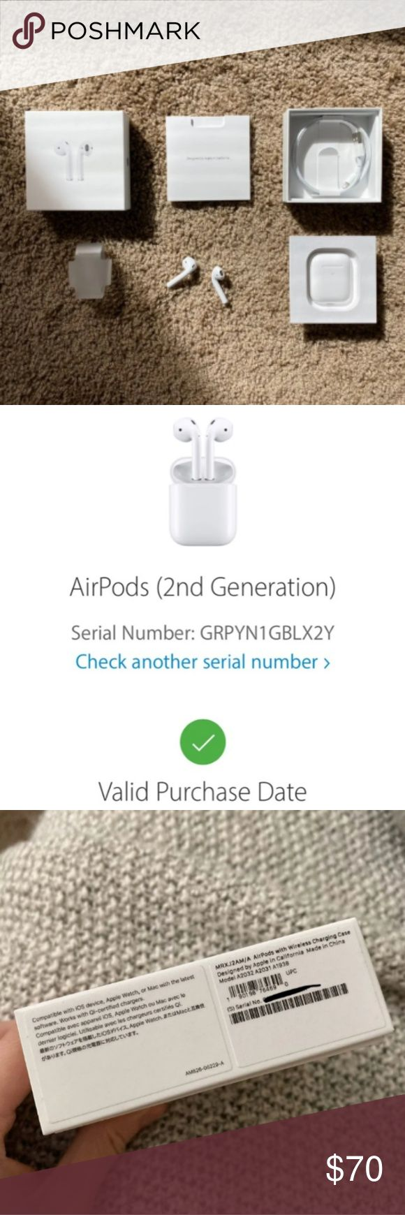 Airpods 2 Text Me 281 624 26 87 If Interested Please These Are Apple Airpods They Re 2nd Gen Phone Case Accessories Apple Accessories I Am Awesome