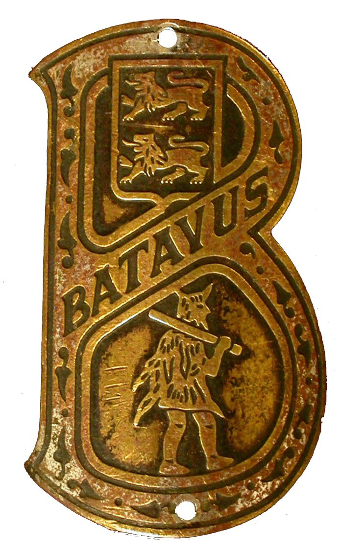 Batavus badge.