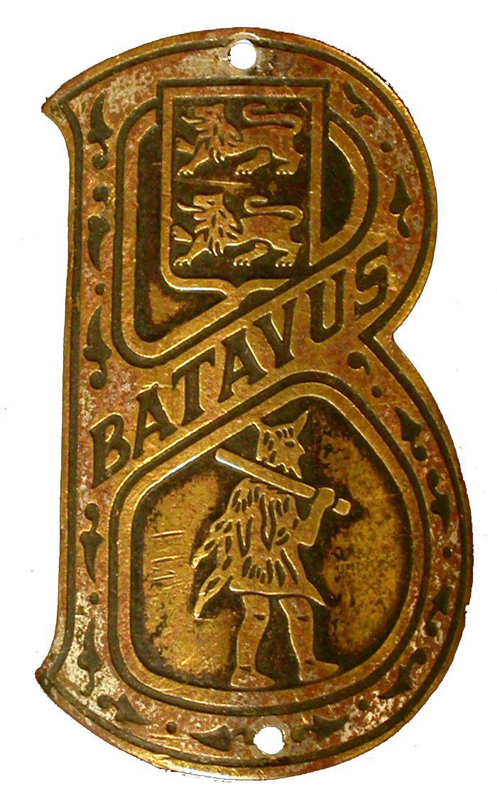 Batavus badge.