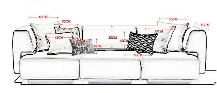 Best 25+ Couch Pillow Arrangement Ideas On Pinterest