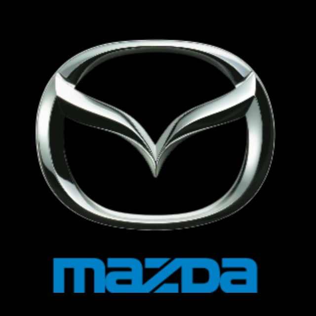 This is a logo for the car brand mazda. If you take a closer look, it is a shape of M in the middle.