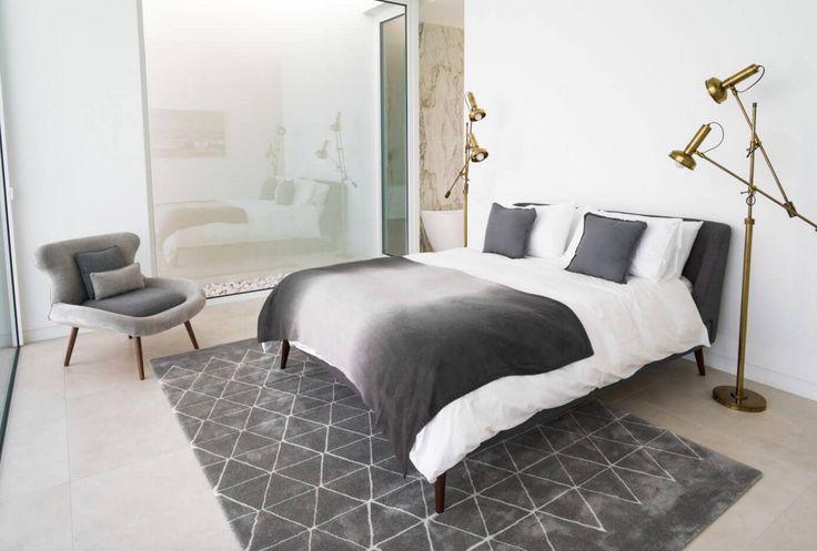 Best 20 chambre grise et blanche ideas on pinterest - Chambre grise et blanche ...