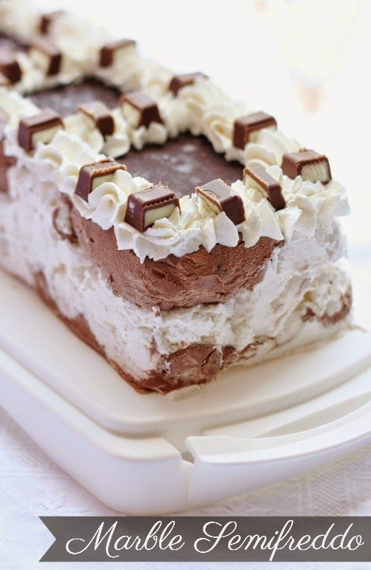 Semifreddo Marble cioccolato e latte