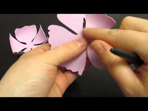 How to Assemble 3-D Flowers