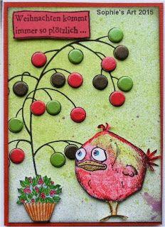 Sophie's Art: Plötzlich Weihnachten - suddenly Christmas
