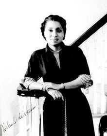 Helen Octavia Dickens (1909-2001) was the first African-American woman to be admitted to the American College of Surgeons. She was a doctor, professor of obstetrics and gynecology, and former associate dean of medicine.