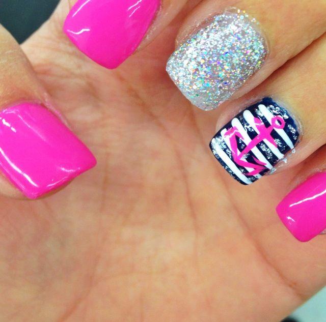 spring break nailss