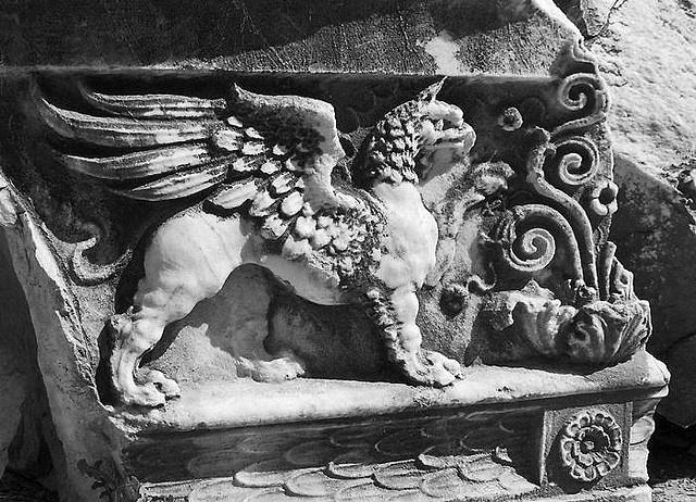 Griffin, Temple of Apollo, Didyma, Turkey