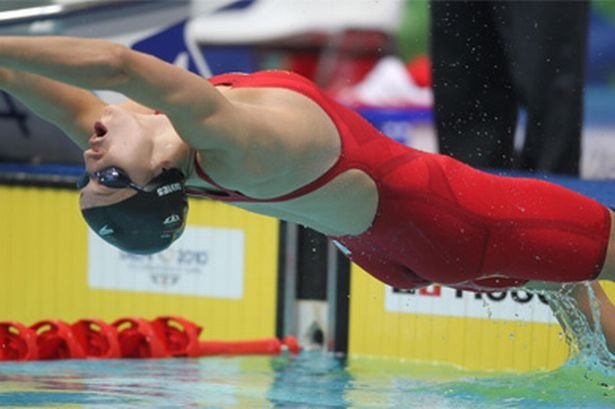 Georgia Davies - She competed at the 2012 Summer Olympics in the Women's 100 metre backstroke!