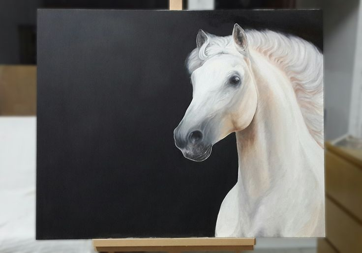 """Andalusian Beauty"" - oil painting."
