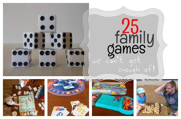 How much time do you have? This family game list is broken into sections for how long they take to play!