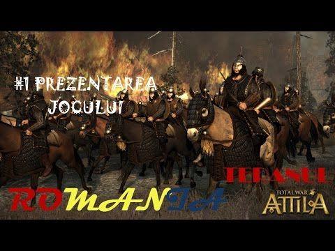 Total War Attila gameplay pc in romana #1 Prezentarea jocului