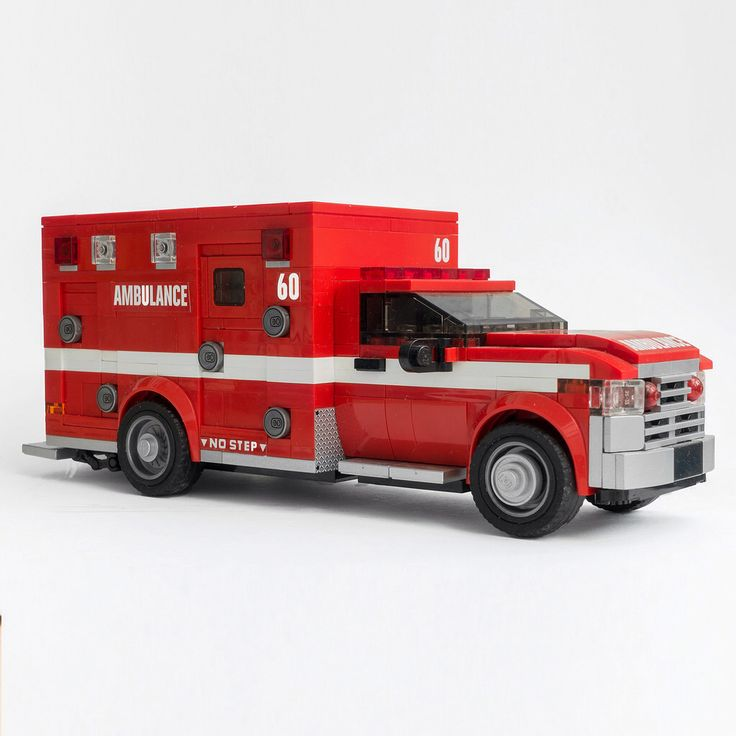 Los Angels Fire Department Ambulance
