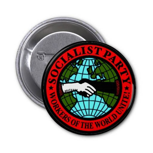 The Socialist Party USA (SPUSA or SOC) Buttons