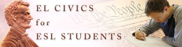 English Language Civics   Government and History Lessons. Provides an easy way to learn about American history, geography, and culture.