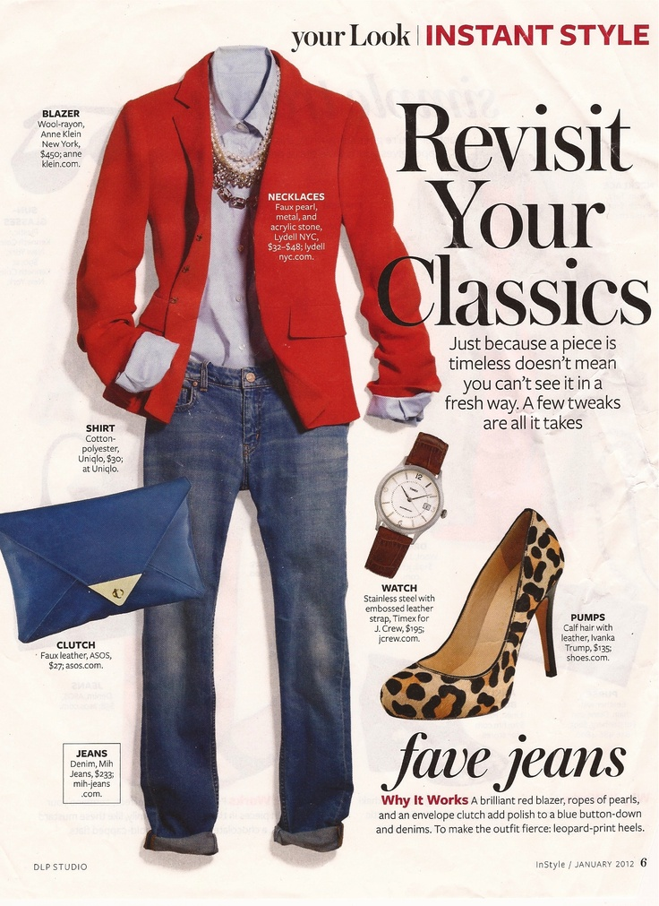 InStyle Revisit Your Classics
