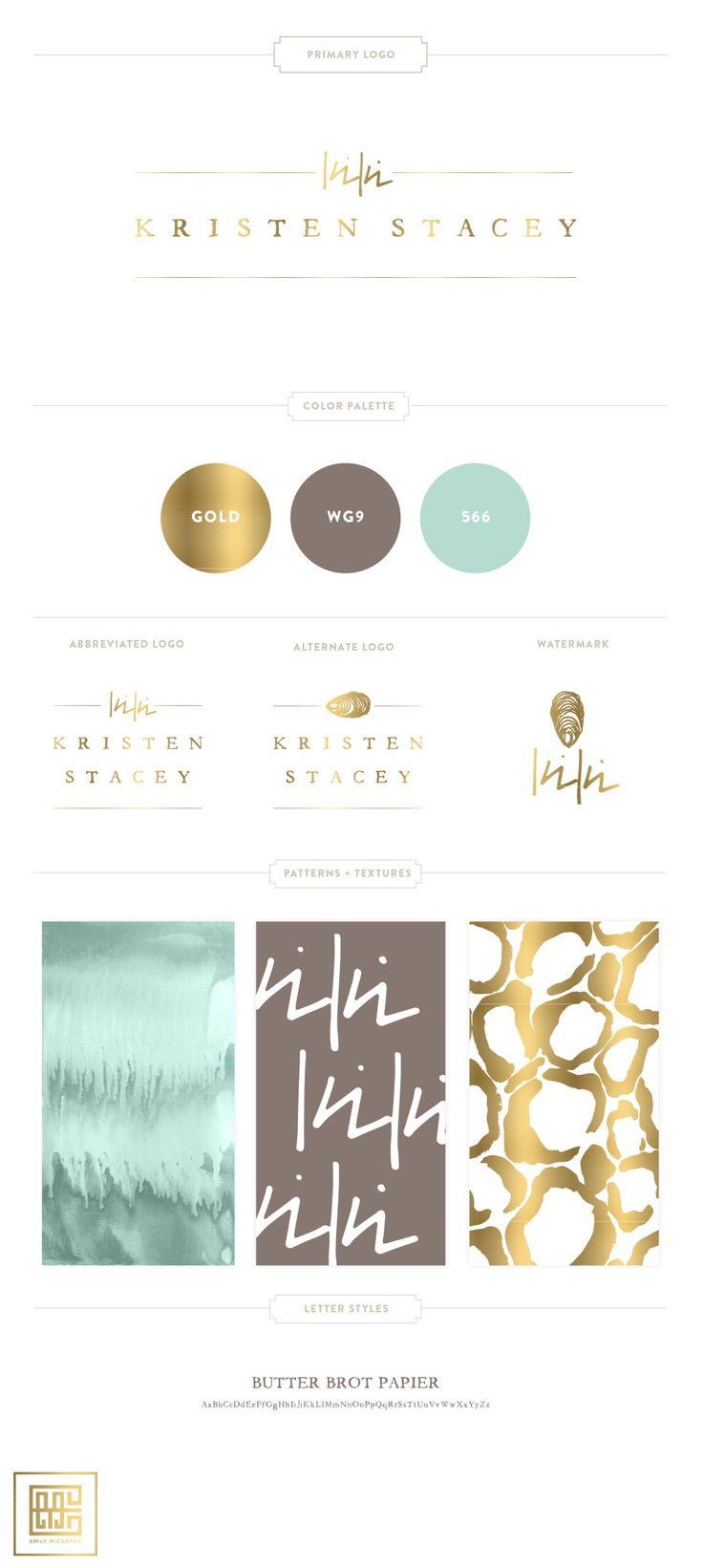 Emily McCarthy Branding Design | Kristen Stacey Branding Board