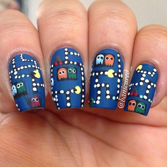 Pacman nails