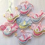 Free Crochet little crochet bird Amigurumi Pattern