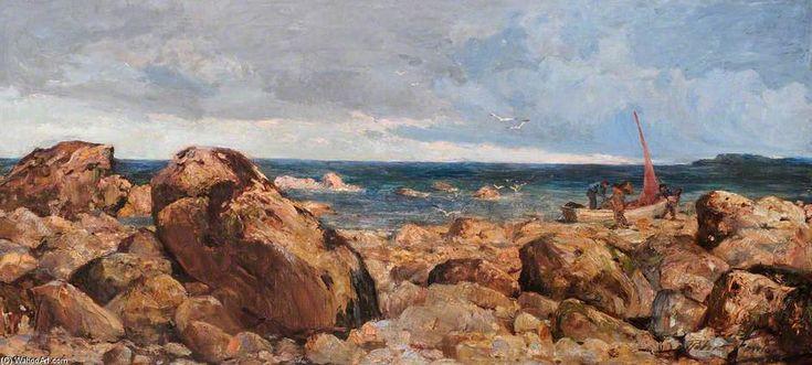 Roches à Llandudno de Robert Fowler (1853-1926, United Kingdom)