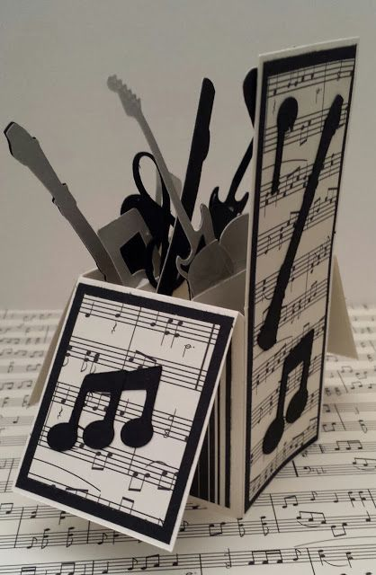 Creative Paper Crafting: Music Box