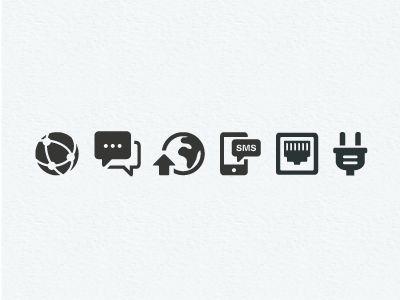 Dribbble - Mobile Icons by Scott Dunlap