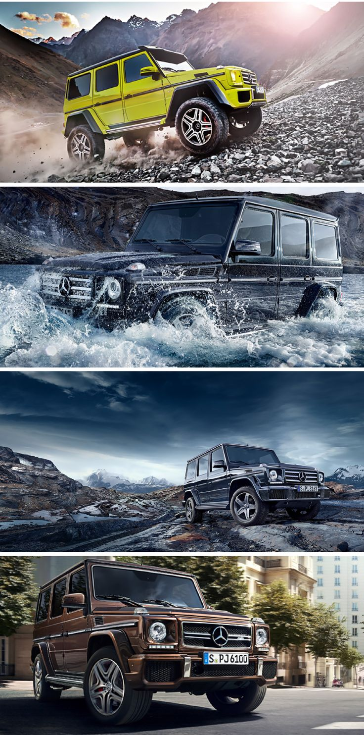 The legends live on: Mercedes-Benz's classic off-roader is beginning a new chapter in a success story that spans more than 35 year—the G-Class.