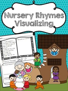 This product includes several classic nursery rhymes that are great for practicing the comprehension skill of visualizing. Each No-Prep worksheets includes a nursery rhyme, a space to draw visualizations, as well as questions regarding character and setting.