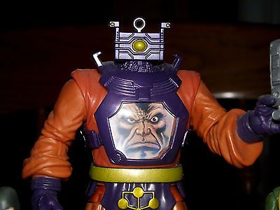 MARVEL UNIVERSE  (HYDRA  ARMY 3.75 ')(ARNIM ZOLA B.A.F COMPLETE)(RED SKULL)