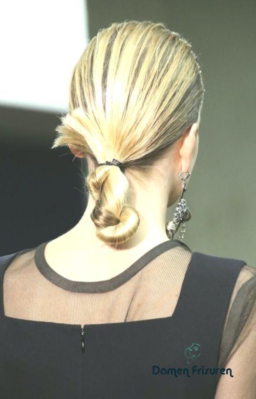 Twisted Pferdeschwanz Frisur Trend Frisuren
