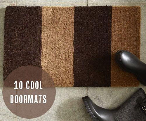 10 cool doormats