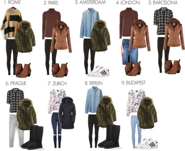 Europe Traveling Outfits