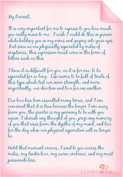 Sample romantic love letter examples of love letters http 17 best love letter templates images on pinterest cartas de amor sample romantic love letter spiritdancerdesigns