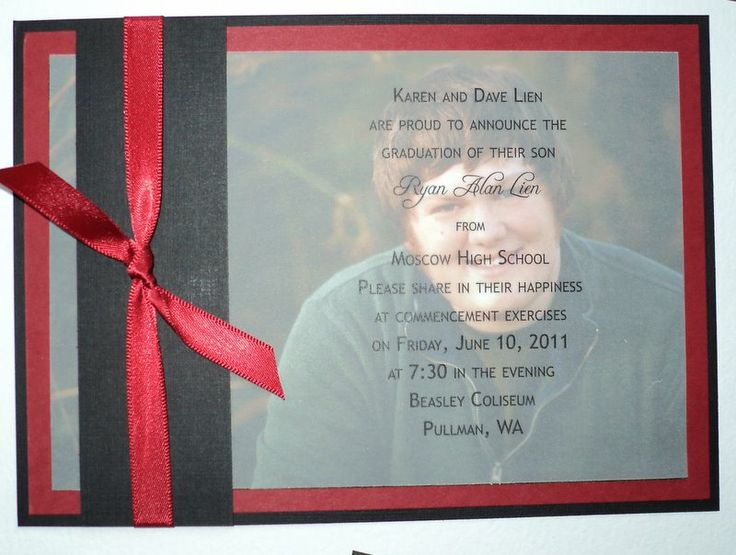Diy high school graduation announcements yasmin pinterest duke high schools and nrg stadium for Graduation announcements pinterest