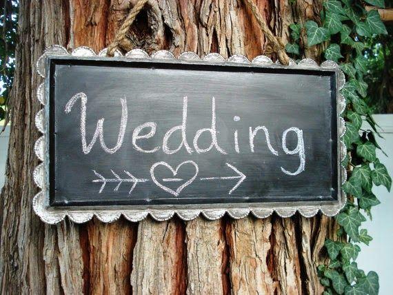 Hudson Valley Weddings - 10 Creative Chalkboard Ideas for Weddings - chalkboard wedding signs
