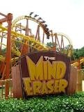MInd Eraser Six Flags America, Maryland